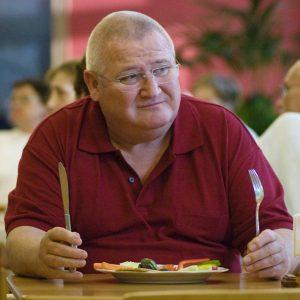 KRAUSES KUR - erstes Abendessen in der Klinik - Foto: (c) 2009 Armin Thomaß / Mafilm