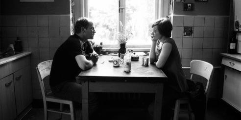 DAS OPFER - Szenenfoto mit Kasia Borak und Torben Kessler, (c) 2010 M.Gadge